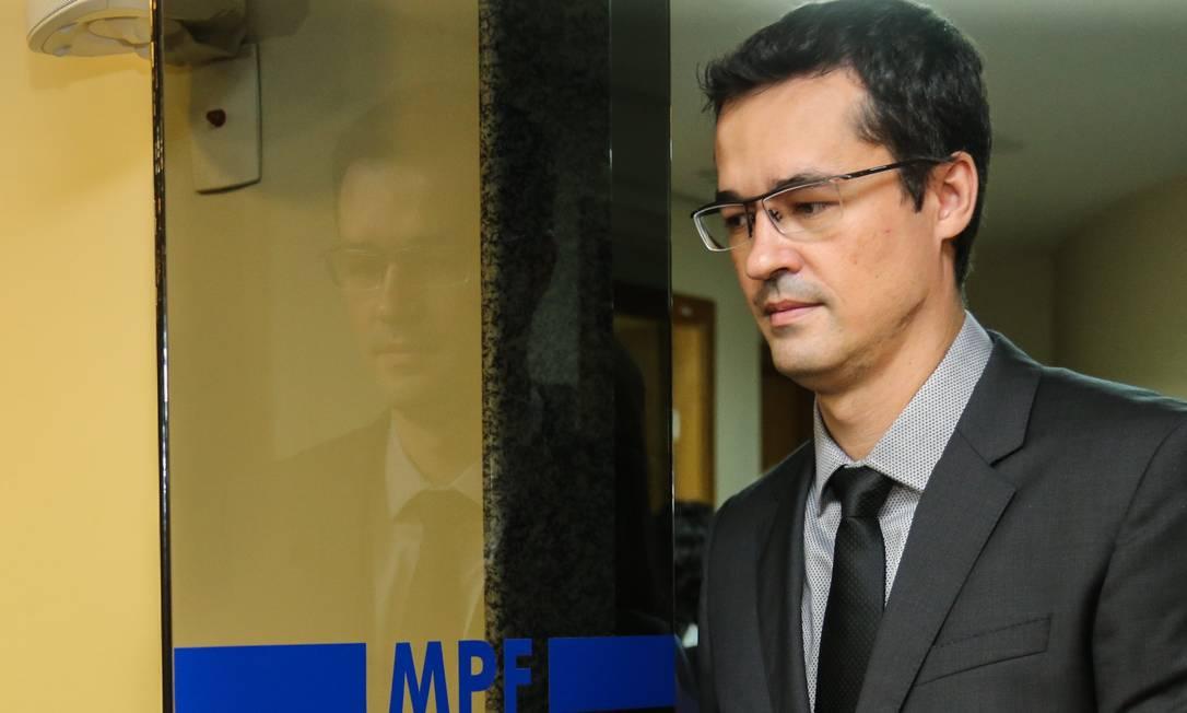 A sessão sobre o caso do procurador Deltan Dallagnol deve prosseguir no dia 10 de setembro Foto: Geraldo Bubniak 16/03/2019 / Agência O Globo