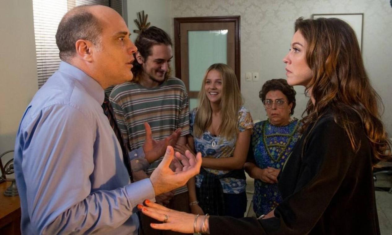 Cena de 'A mulher do meu marido' Foto: Divulgação