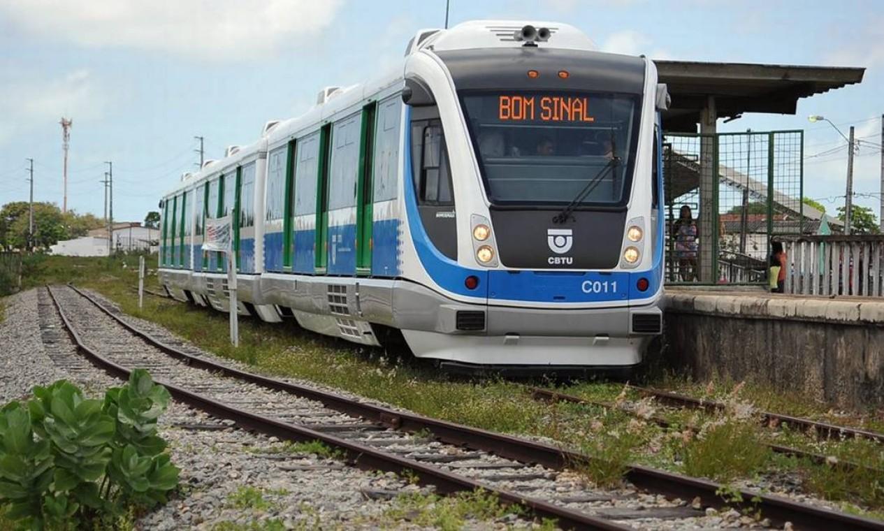CBTU - A Companhia Brasileira de Trens Urbanos atua no transporte de passageiros nas regiões metropolitanas de Belo Horizonte (MG), Recife (PE), Maceió (AL), João Pessoa (PB) e Natal (RN). Tornou-se empresa pública em junho de 2018, após Assembleia Geral Extraordinária Foto:
