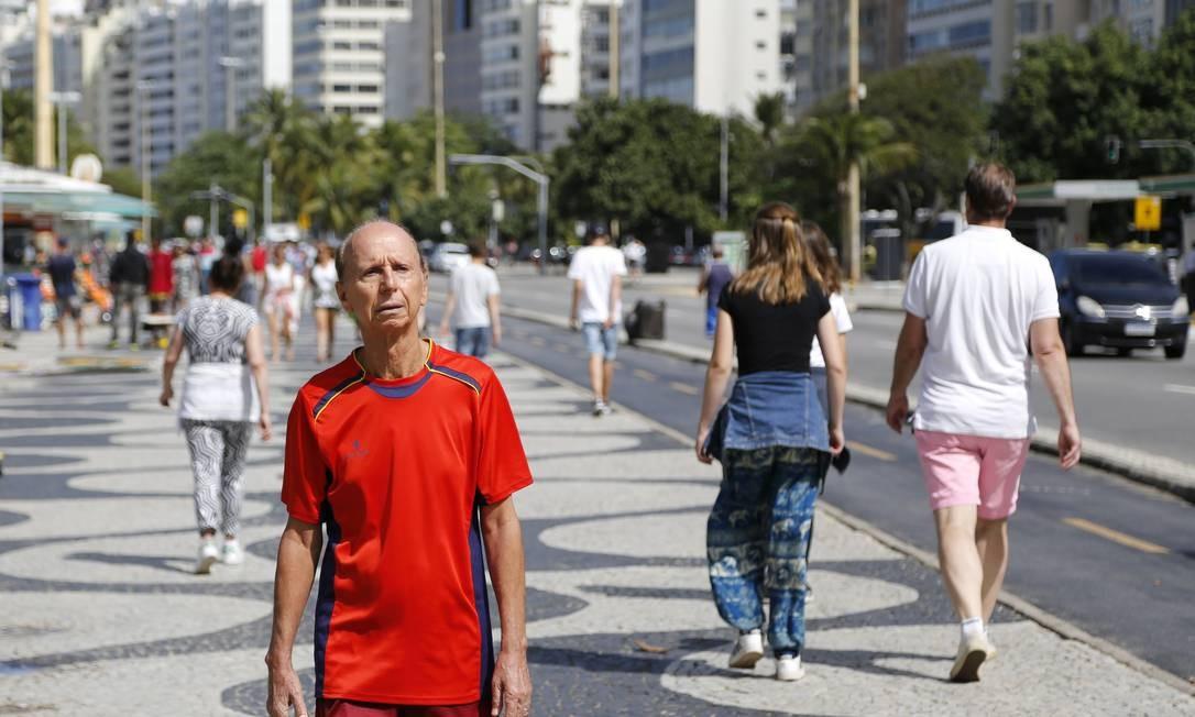 RI Rio de Janeiro (RJ) 15/08/2019 Importancia da vida social na terceira idade - Claudionor Sanches. Foto de Fabio Rossi / Agência O Globo Foto: Fabio Rossi / Agência O Globo