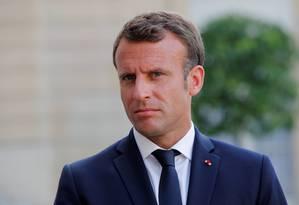 Presidente da França, Emmanuel Macron, atacou os rumos do Brexit e disse que EUA vão tratar o Reino Unido como um