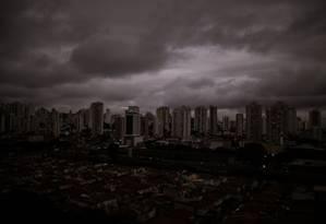 O céu de São Paulo Foto: André Lucas / picture alliance via Getty Image