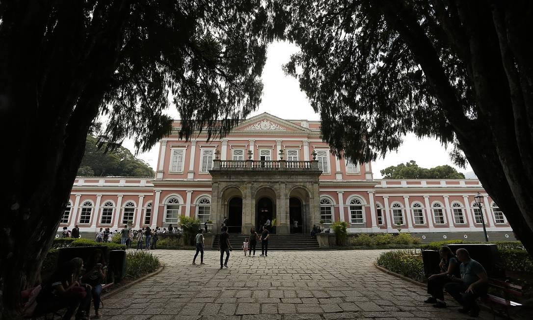 Museu Imperial de Petrópolis, uma das principais da região turística da Serra Verde Imperial Foto: Pablo Jacob / Agência O Globo