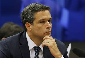 Roberto Campos Neto, presidente do Banco Central 16/05/2019 Foto: Jorge William / Agência O Globo