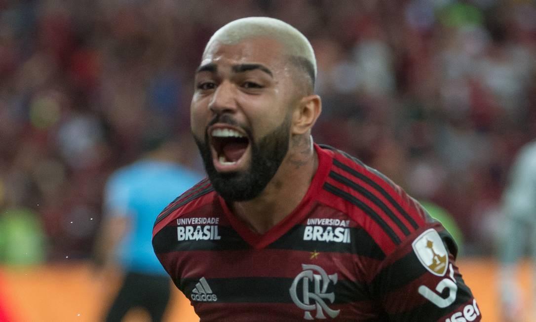 Gabigol foi a surpresa de Jorge Jesus na escalação do Flamengo Foto: Alexandre Vidal/Flamengo