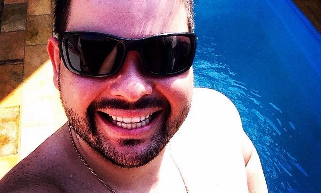 Thiago Marins, filho do vereador Foto: Facebook / Reprodução