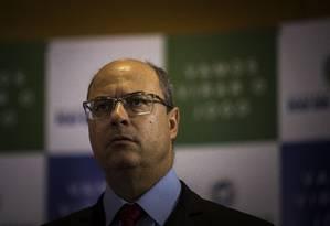 O governador Wilson Witzel Foto: Guito Moreto/Agência O Globo