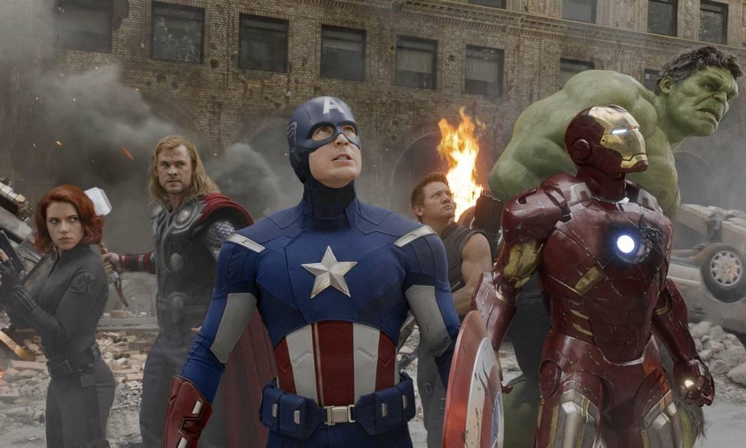"""Milionários: Cena de """"Vingadores 2: a Era de Ultron"""" Foto: Divulgação"""