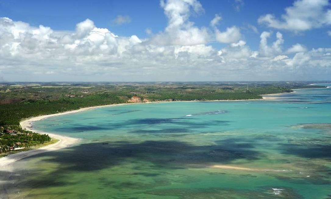 Praias de Japaratinga na Área de Proteção Ambiental da Costa dos Corais Foto: Divulgação