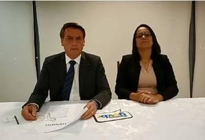 Bolsonaro nega que mudança no Coaf vise beneficar sua família Foto: Reprodução