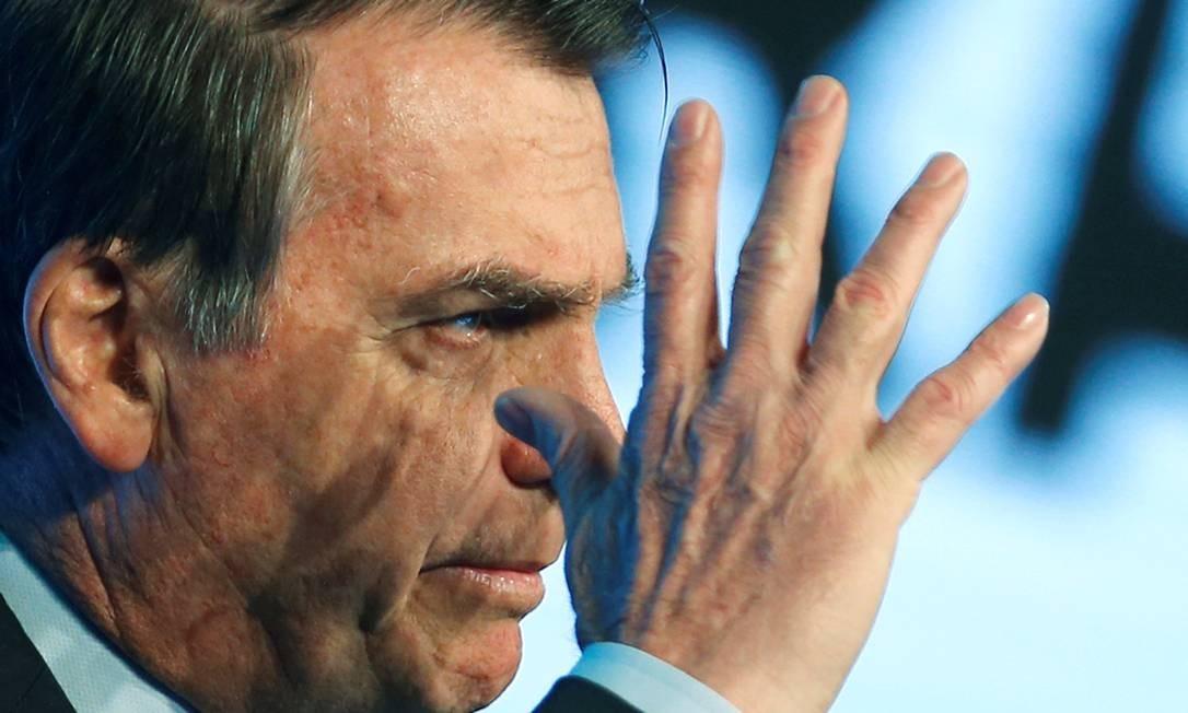Brazil's President Jair Bolsonaro attends the Brazilian Steel Conference in Brasilia, Brazil August 21, 2019. REUTERS/Adriano Machado Foto: ADRIANO MACHADO / REUTERS
