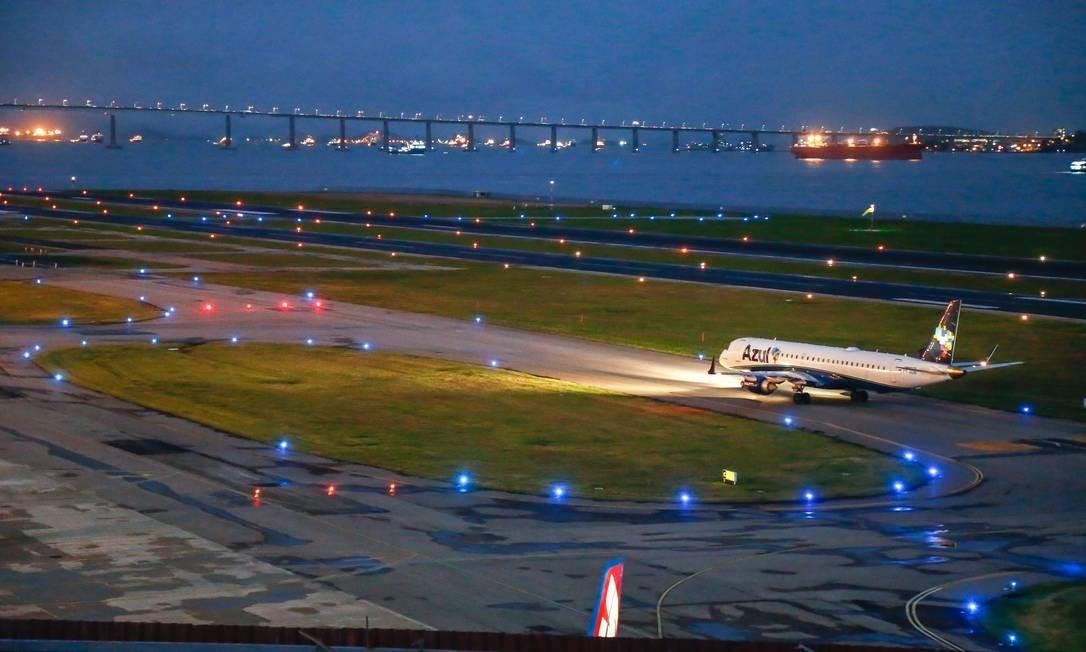 Rio de Janeiro 22/08/2019 Aeroporto Santos Dumont se prepara para grande reforma. Foto Marcelo Regua/ Agência O Globo Foto: Marcelo Regua / Agência O Globo