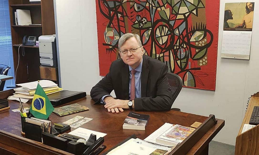 O diplomata Nestor Forster é o nome forte para assumir o posto Foto: Itamaraty/Divulgação