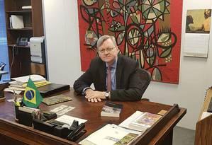 O diplomata Nestor Forster deve assumir o posto só no ano que vem Foto: Itamaraty/Divulgação