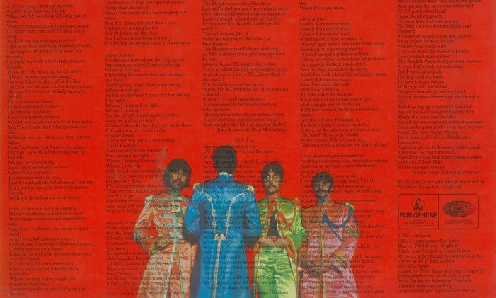 Encarte do álbum Foto: Reprodução
