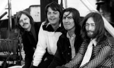 Ringo Starr, Paul McCartney, George Harrison e John Lennon Foto: BRUCE MCBROOM / Divulgação