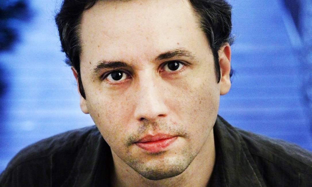 O dramaturgo Roberto Alvim, direitor do Centro de Artes Cênicas da Funarte Foto: Leonardo Aversa : Leo Aversa / Agência O GLOBO