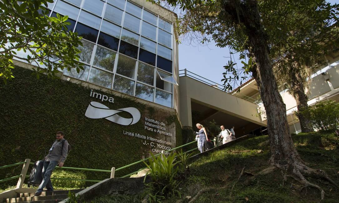 A fachada do IMPA Foto: Leo Martins / Agência O Globo