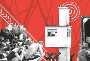 Brasil registra queda do índice de mortes violentas intencionais Foto: Editoria de Arte