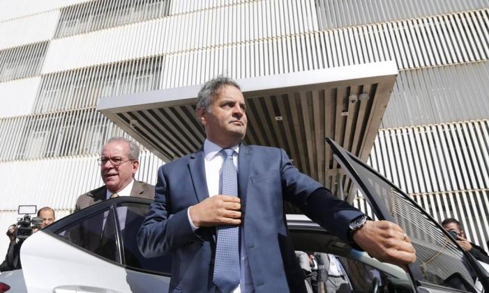 O deputado federal Aécio Neves (PSDB-MG) Foto: André Coelho / O Globo/Arquivo