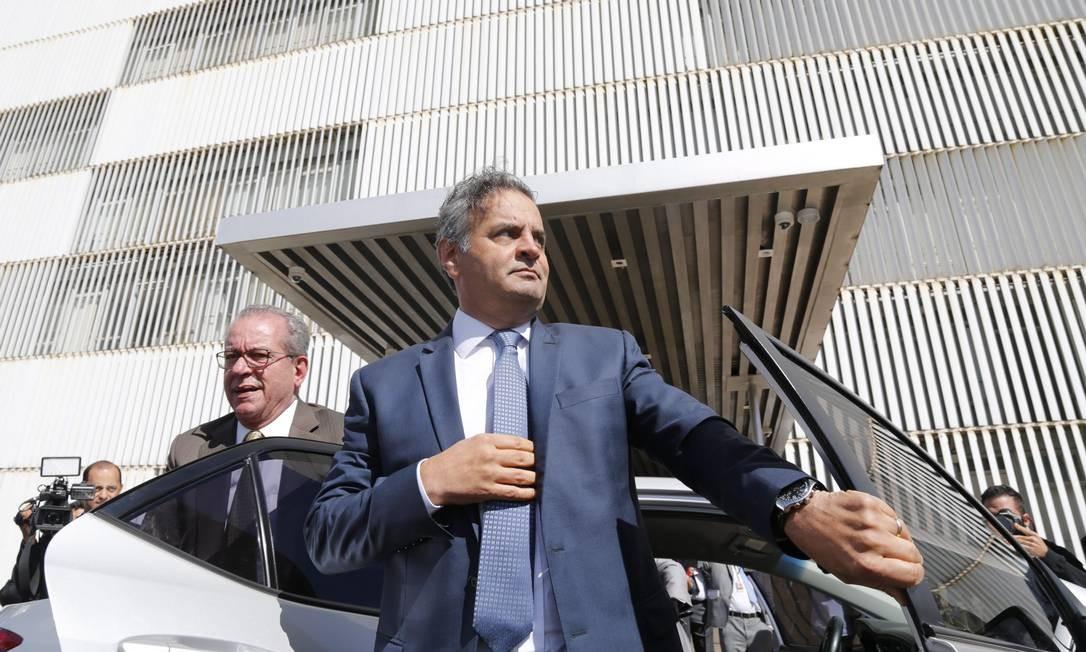 O deputado federal Aécio Neves (PSDB-MG) Foto: André Coelho / Agência O Globo