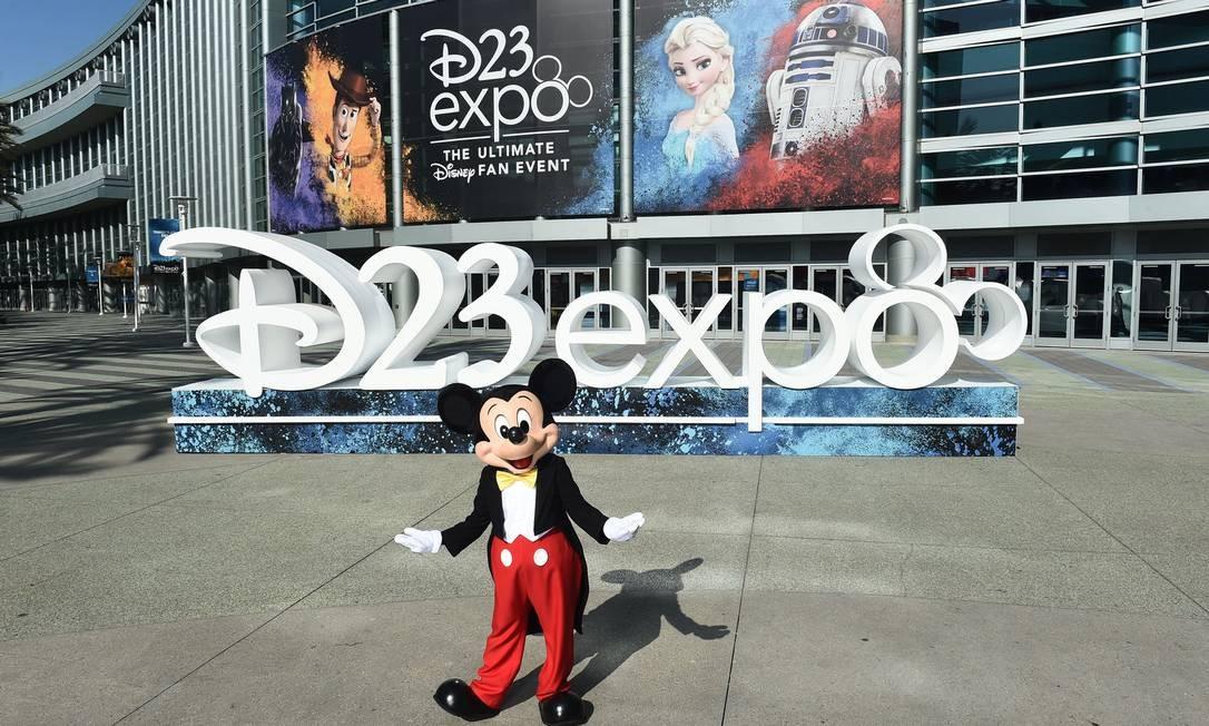 D23 está sendo realizada na sede da Disney, na Califórnia Foto: Image Group LA / The Walt Disney Company