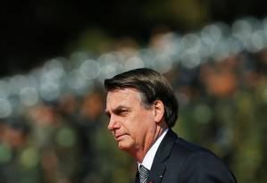 Bolsonaro diz que alguns incêndios na floresta são espontâneos e outros criminosos: 'O que nós podemos fazer, estamos fazendo'. Foto: ADRIANO MACHADO / REUTERS
