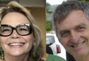 Rogéria e Renato Bolsonaro, ex-mulher e irmão do presidente, podem disputar eleições de 2020 Foto: Reprodução/Instagram//Agência Brasil