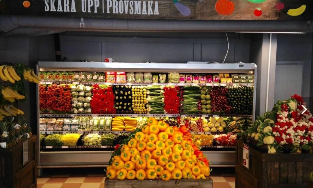 Este ano, maior rede de supermercados da Escandinávia, a Paradiset, boicotou produtos brasileiros em protesto contra política do governo Bolsonaro para agrotóxicos. Analistas e produtores agrícolas receiam novas medidas semelhantes Foto: Reprodução