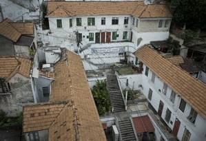 O Bairro São Jorge, condomínio com 48 casas no Catete Foto: Márcia Foletto / Agência O Globo