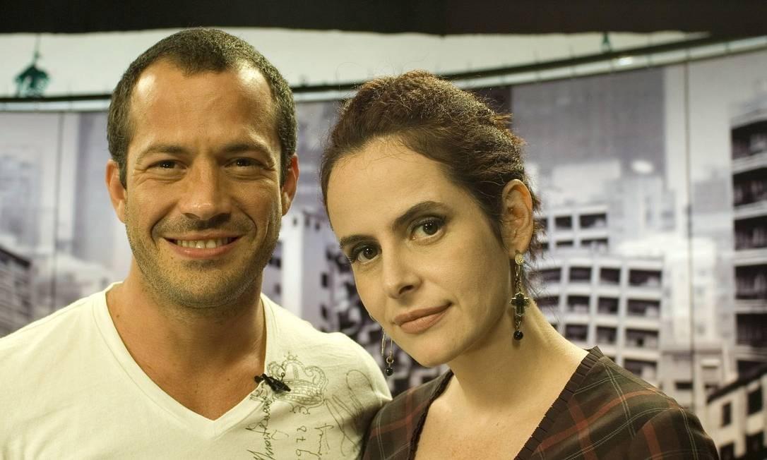 """O ator Malvino Salvador no programa """"Irritando Fernanda Young"""" Foto: Divulgação"""