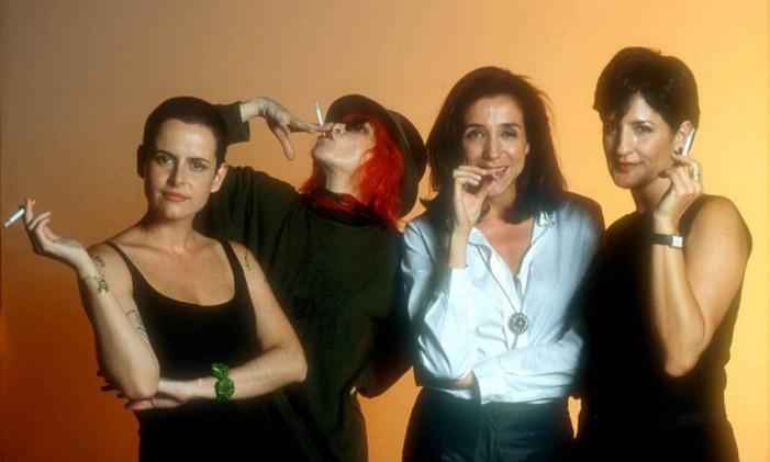Fernanda Young, Marisa Orth, Mônica Waldvogel e Rita Lee, as apresentadoras do 'Saia justa' Foto: Divulgação