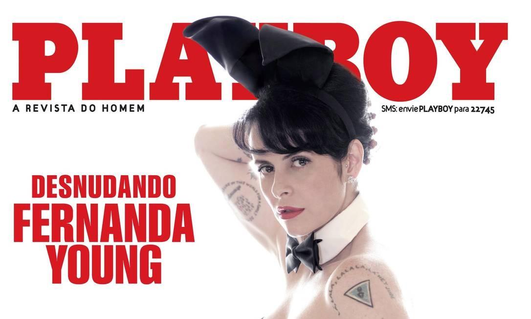 Fernanda Young posou nua para a Playboy em novembro de 2009 Foto: Bob Wolfenson / Divulgação