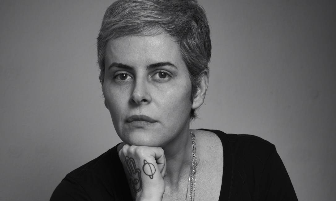 Fernanda Young em Paraty, em 2018: dois livros inéditos Foto: Marcelo Saraiva Chaves / Agência O Globo