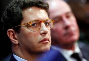 O ministro do Meio Ambiente, Ricardo Salles Foto: ADRIANO MACHADO / REUTERS / 24-08-2019