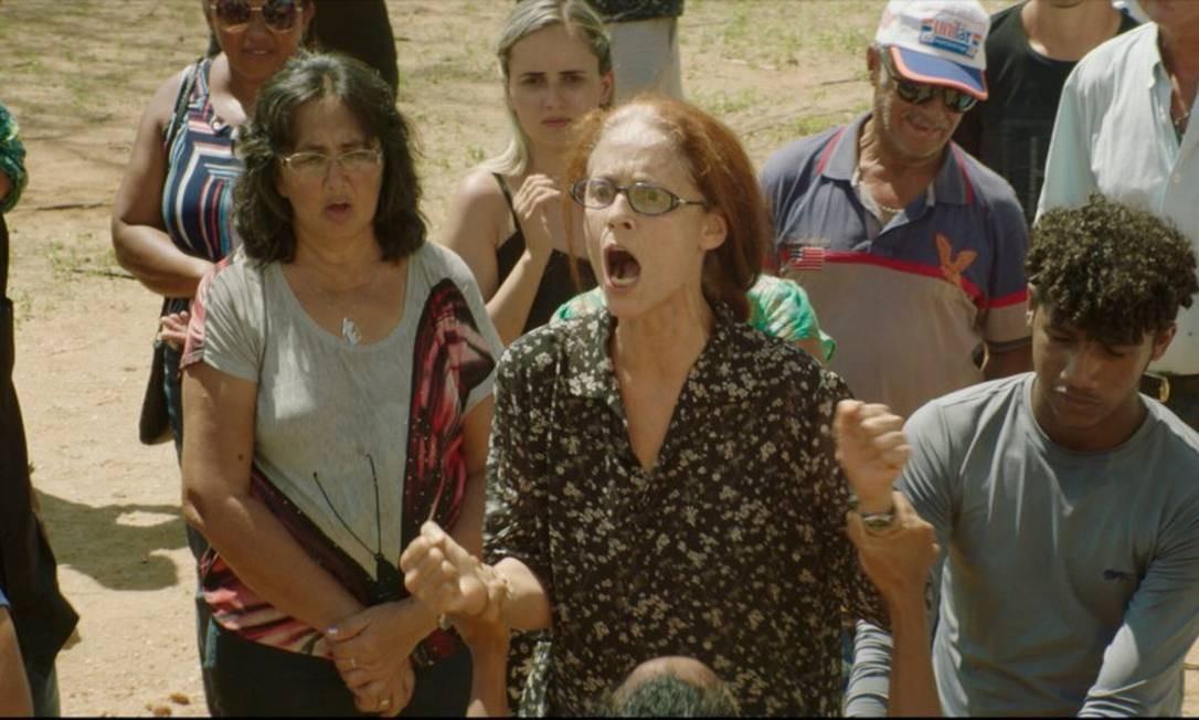 SC - Sonia Braga em cena do filme Bacurau