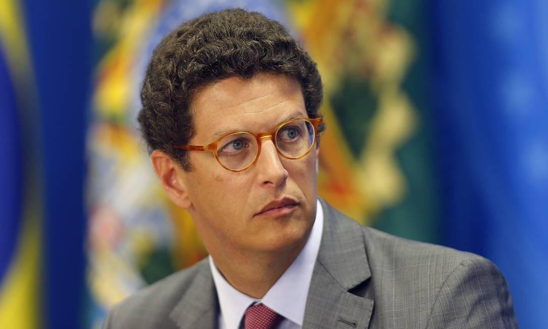 O ministro do Meio Ambiente, Ricardo Salles Foto: Jorge William / Agência O Globo