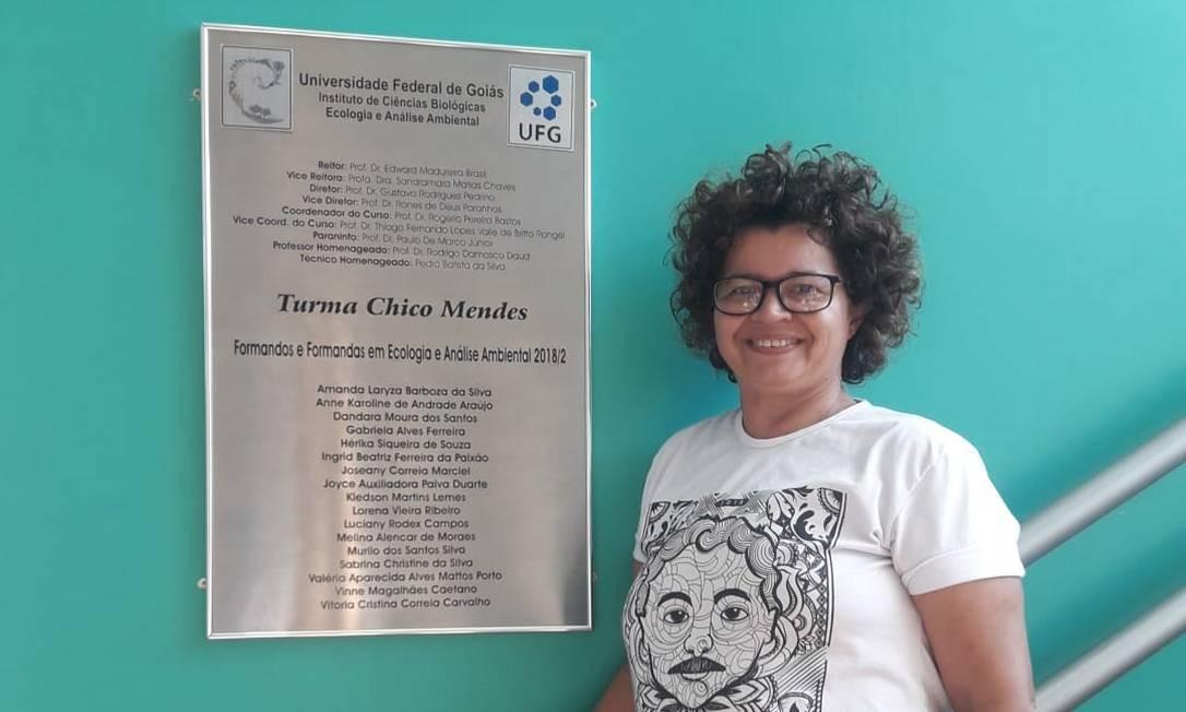 Ângela Mendes, coordenadora do Comitê Chico Mendes Foto: Arquivo
