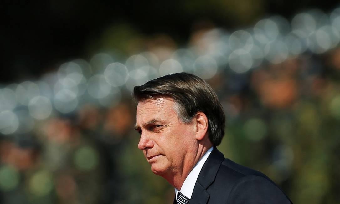 Brazil's President Jair Bolsonaro looks on during an Soldier's Day ceremony, in Brasilia, Brazil August 23, 2019. REUTERS/Adriano Machado Foto: ADRIANO MACHADO / REUTERS
