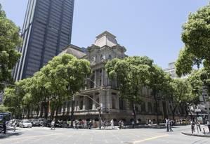 Belas Artes: prédio eclético do museu será palco de mostras sobre arquitetos estrangeiros que influenciaram o Rio Foto: Leo Martins / Agência O Globo