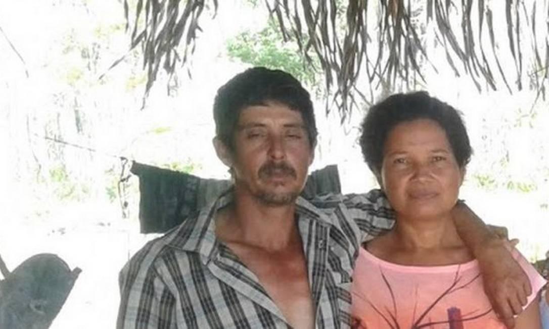 Eidi e Romildo morreram ao tentar fugir das chamas no Assentamento Galo Velho Foto: Arquivo Pessoal