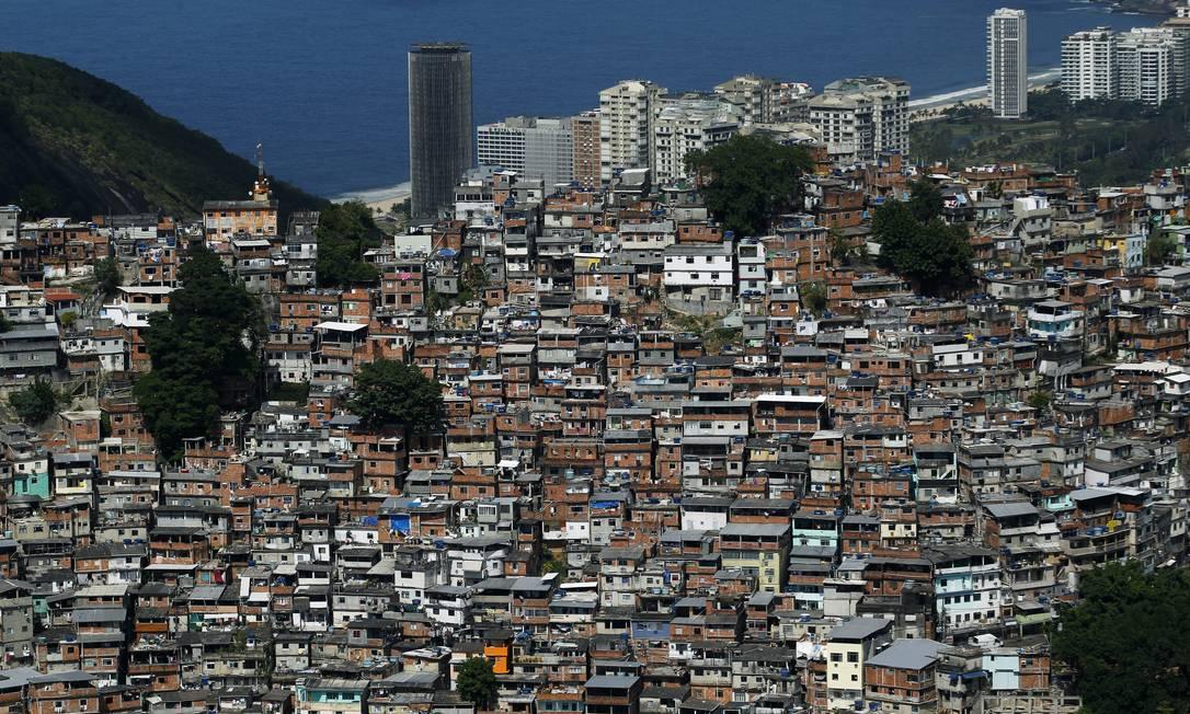 RI Rio de Janeiro (RJ) 15/04/2019. Geografia de uma cidade. Rocinha. Foto Custodio Coimbra Foto: Custódio Coimbra / Agência O Globo