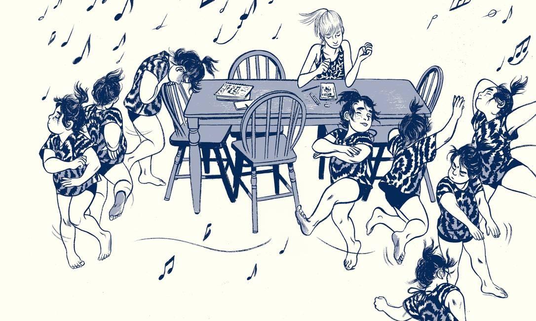 Graphic novel 'Aquele verão' chega ao Brasil Foto: Reprodução