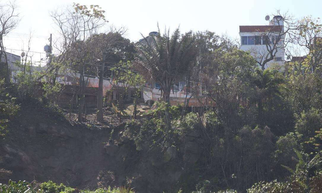 A prefeitura do Rio contesta o laudo judicial que condena a reabertura da piista para a passagem de veículos Foto: Fabiano Rocha em 27/08/2019 / Agência O Globo