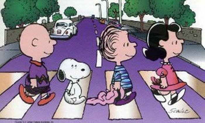 Snoopy Beatles Foto: Reprodução