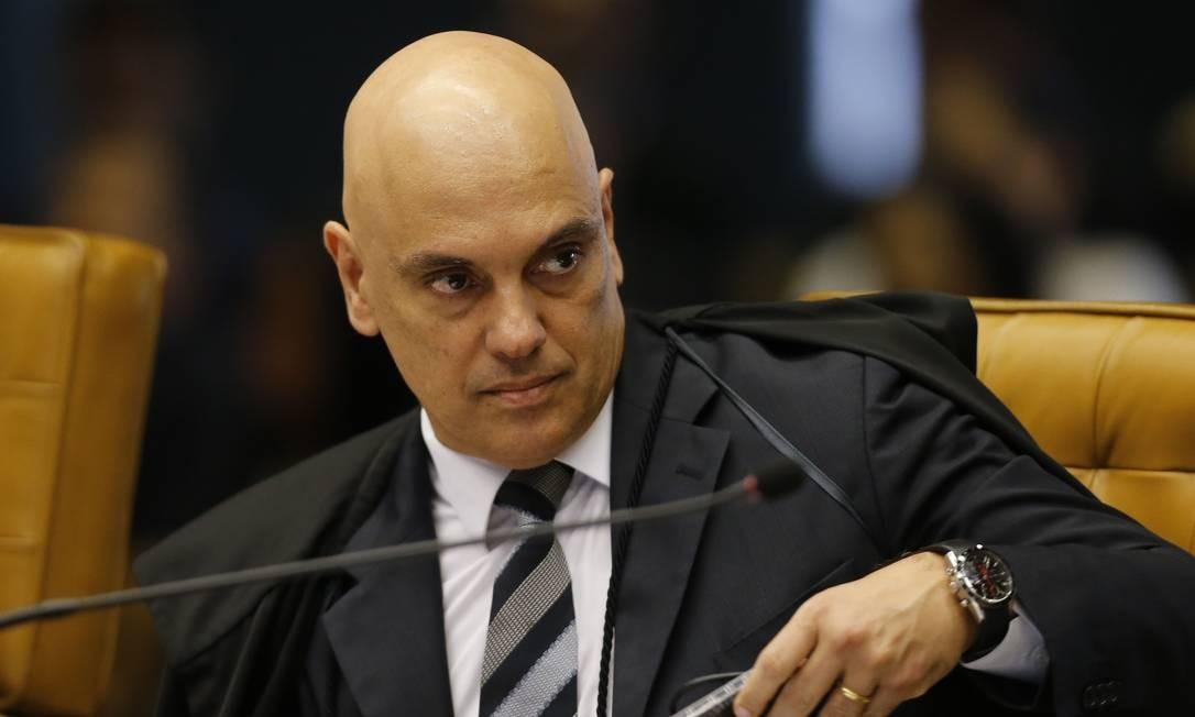 Alexandre de Moraes Foto: Jorge William / Agência O Globo