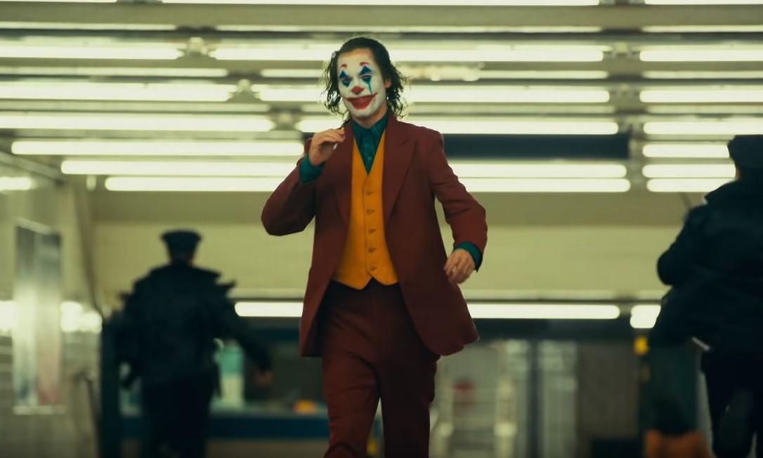 Joaquin Phoenix como Coringa Foto: Reprodução