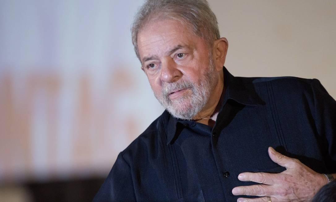 Ex-presidente Luiz Inácio Lula da Silva Foto: Michel Filho / Agência O Globo