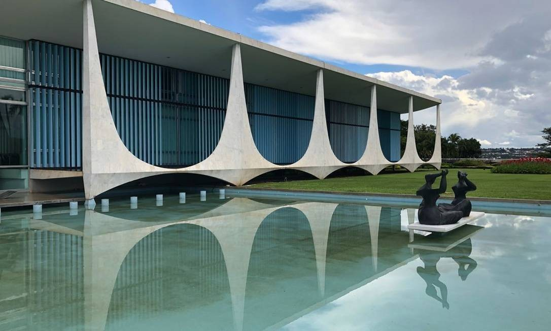 Palácio da Alvorada, residência do presidente da República Foto: Adriana Mendes/Agência O Globo