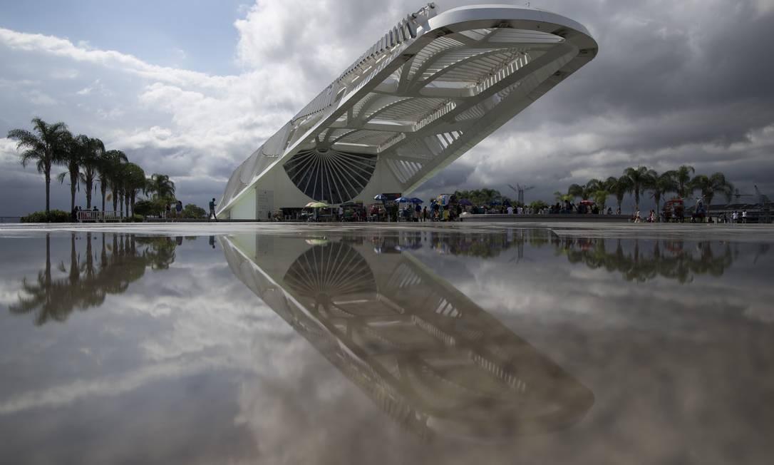 Sucesso de público: o Museu do Amanhã, na Região Portuária, é o mais visitado do país e também da América Latina Foto: Márcia Foletto / Agência O Globo